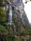 Höjd för 3 nivå för vattenfall högväxt Arkivfoto