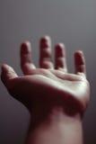 höjd hand Arkivbild