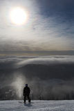 höjdbergryttare arkivbild