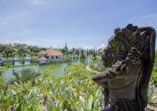 Höjdlandskap på Taman Ujung Soekasada arkivbilder