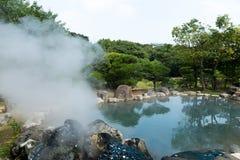 Hölle in Beppu von Japan stockfoto