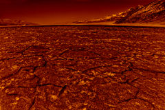 Hölle in Death Valley Stockfotografie