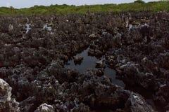 Hölle in Grand Cayman lizenzfreies stockbild