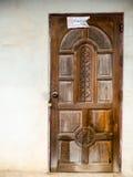 Hölzerne alte Tür Stockbilder