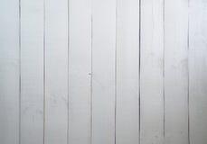 Hölzerne alte weiße Beschaffenheit des Hintergrundes Lizenzfreie Stockbilder