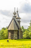 Hölzerne Architektur, Kirche barmherziger Retter Stockfotografie