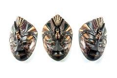 Hölzerne Batikmaske Indonesien Lizenzfreie Stockfotos