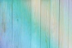 Hölzerne Beschaffenheit Alte blaue Beschaffenheit der hölzernen Vertikale täfelt a Lizenzfreies Stockfoto
