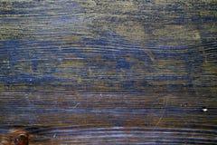 Hölzerne Beschaffenheit behandelt mit Ebenholzfleck und Goldfarbe stockfotos
