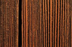 Brown-Holzbeschaffenheit Stockbild