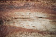Hölzerne Beschaffenheit in den braunen Tönen Alte ländliche hölzerne Wand, ausführlicher Plankenzaun-Fotohintergrund Lizenzfreies Stockbild