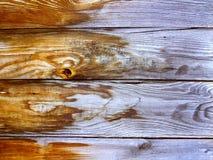 Hölzerne Beschaffenheit gemacht von den hölzernen Planken Lizenzfreie Stockfotografie