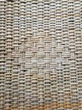 Hölzerne Beschaffenheit, Muster und Hintergrund des Rattans lizenzfreie stockfotografie