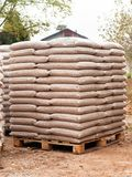 Hölzerne Biomasse - erneuerbare Energie Stockfoto