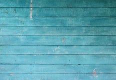 Hölzerne blaue alte Beschaffenheit Lizenzfreies Stockfoto