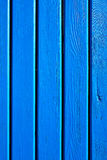 Hölzerne blaue Planken Stockbild