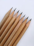 Hölzerne Bleistifte Stockfotografie