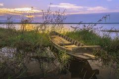 Hölzerne Boote lizenzfreies stockfoto