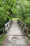 Hölzerne Brücke Stockbilder
