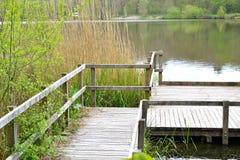 Hölzerne Brücke 1 Stockbilder