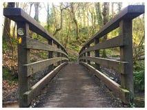 Hölzerne Brücke Lizenzfreie Stockbilder