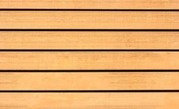 Hölzerne Bretter werden horizontal, der Hintergrund oder die Beschaffenheit vereinbart lizenzfreie stockbilder