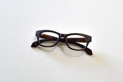Hölzerne Brillen Stockbilder