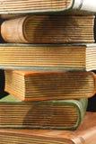 Hölzerne Buchstützen Stockbilder