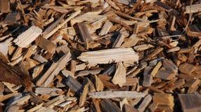 Hölzerne Chips Stockbild