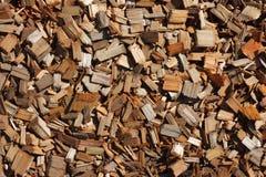Hölzerne Chips Stockbilder