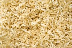 Hölzerne Chips, organischer Hintergrund Stockfotos