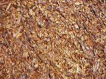 Hölzerne Chips - Splitter Stockfoto
