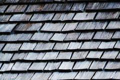 Hölzerne Dachbeschaffenheit Stockfotos