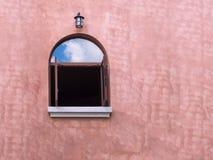 Hölzerne Fenster Lizenzfreies Stockfoto