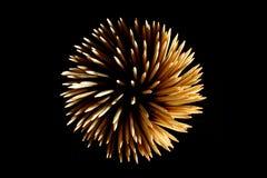 Hölzerne Feuerwerke Stockbilder