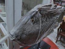 Hölzerne Fische Stockfotos