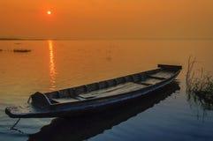 Hölzerne Fischerboote lizenzfreies stockfoto