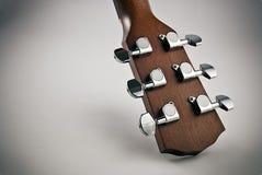 Hölzerne Gitarre Lizenzfreie Stockfotos