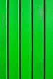 Hölzerne grüne Planken Lizenzfreies Stockfoto