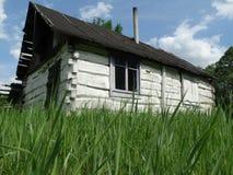 Hölzerne Hütte Оld Stockbild