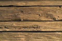 Hölzerne Hütte Stockfotografie