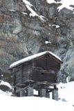 Hölzerne Hütte Lizenzfreies Stockbild