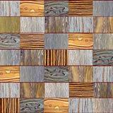 Hölzerne Hintergrundbeschaffenheitsstücke farbiges Holz, Dunkelheit, Licht Für den Hintergrund stockbilder