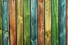 Hölzerne Hintergrundfarbe Lizenzfreie Stockfotos