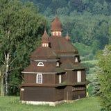 Hölzerne Kirche stockbilder