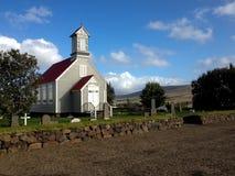 Hölzerne Kirche stockfotografie