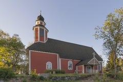 Hölzerne Kirche Lizenzfreie Stockfotografie
