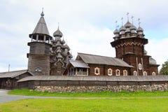 Hölzerne Kirchen, Kizhi stockbild