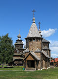 Hölzerne Kirchen in Suzdal. Stockfotos