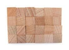 Hölzerne Lichtstrahlen gebildet vom natürlichen Holz Lizenzfreie Stockfotografie